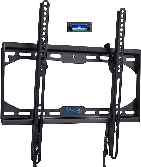 Soporte de pared para TV para la mayoría de los televisores LED, LCD, OLED, pantallas planas