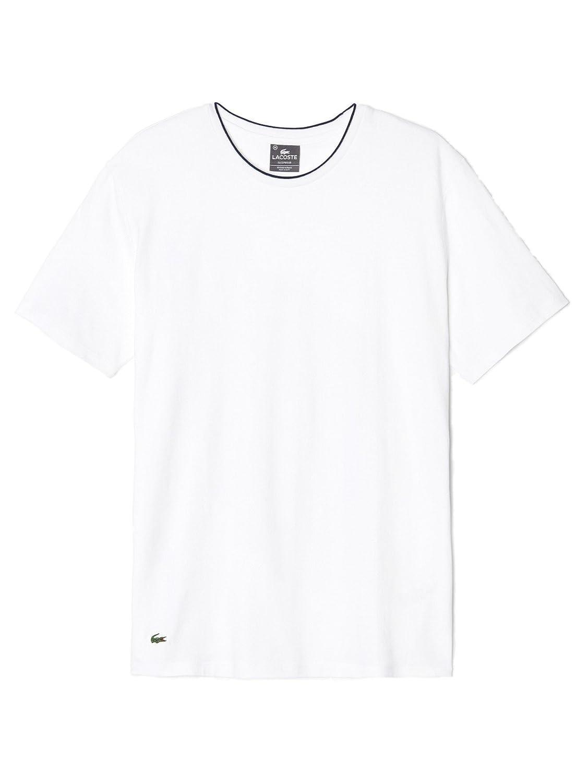 Lacoste Underwear - Pijama hombre Lacoste C/N Stretch Sleep té Weiß X-Small : Amazon.es: Ropa y accesorios