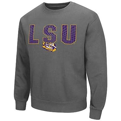 Mens LSU Tigers Crew Neck Sweatshirt