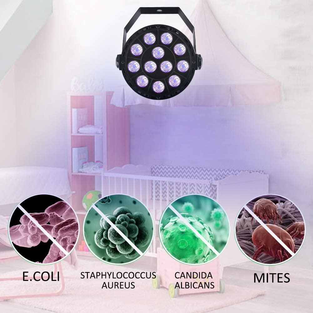 K/üche WC Ozon Lamp Sterilisator Desinfektion einheitlicher 360-Grad-Astigmatismus f/ür Auto Airymap Handheld Tragbare UV Waschraum