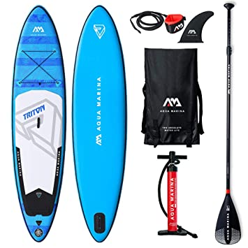Aquamarina Triton Tabla para Surf de Remo, Unisex Adulto, Large ...