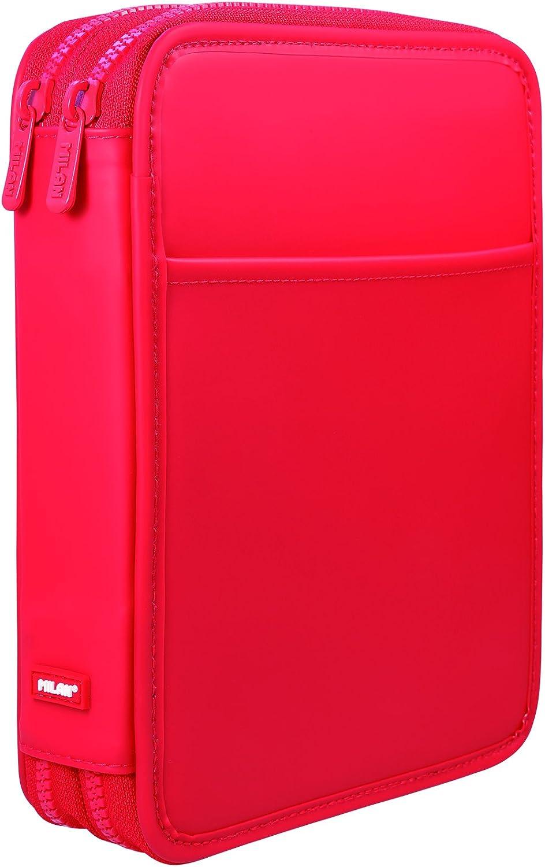 Milan Matt Touch R Estuches, 25 cm, Rojo: Amazon.es: Equipaje