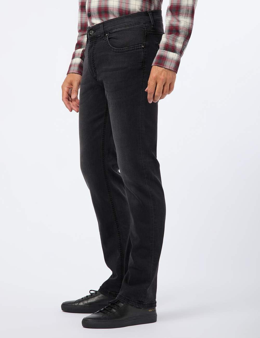 Pioneer Rando Hand Crafted Straight Jeans voor heren zwart (dark used with buffies 440).