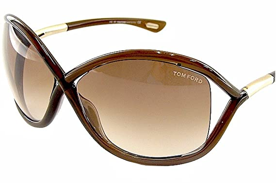 7ab41597414 Amazon.com  Tom Ford Whitney TF 9 692 Dark Brown Brown Gradient ...