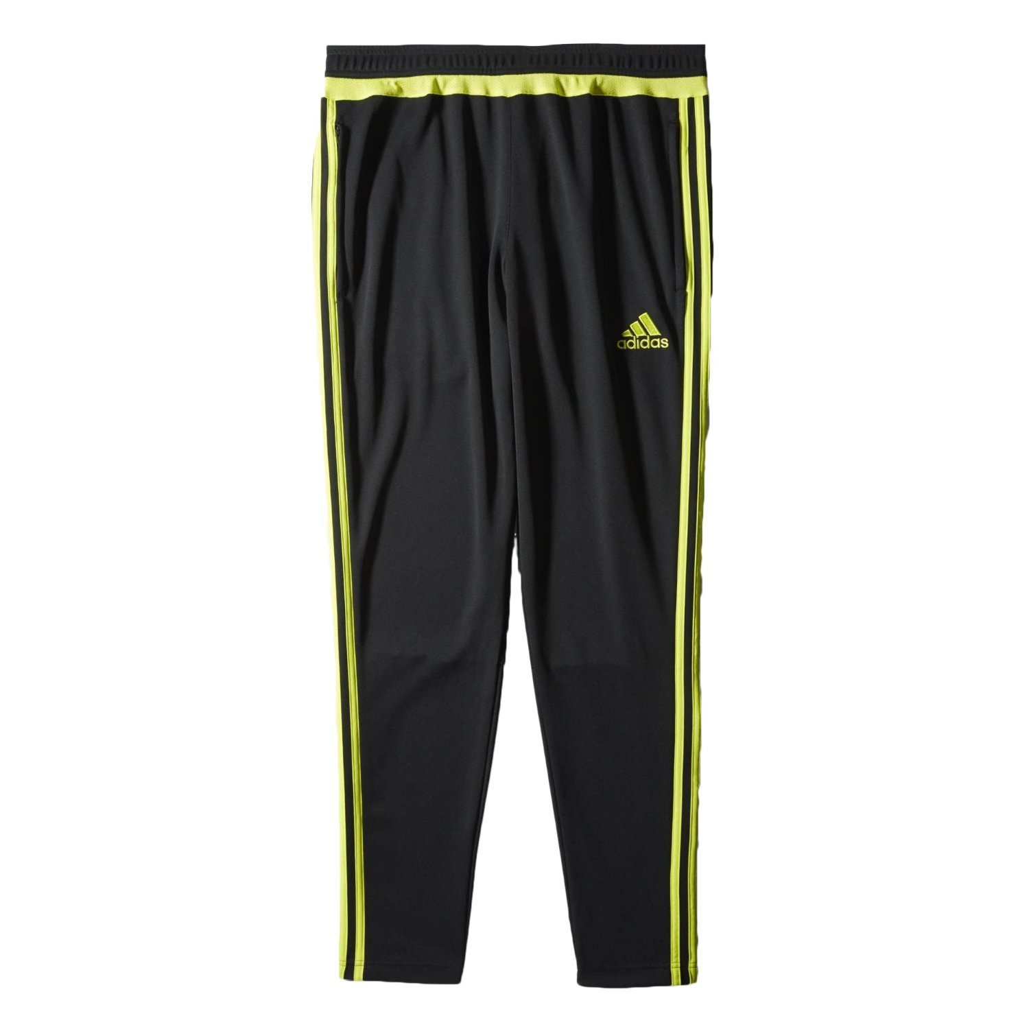 Adidas Men 's Tiro 15トレーニングパンツ B00LOU3Y30 X-Small|Black/Semi Solar Yellow Black/Semi Solar Yellow X-Small