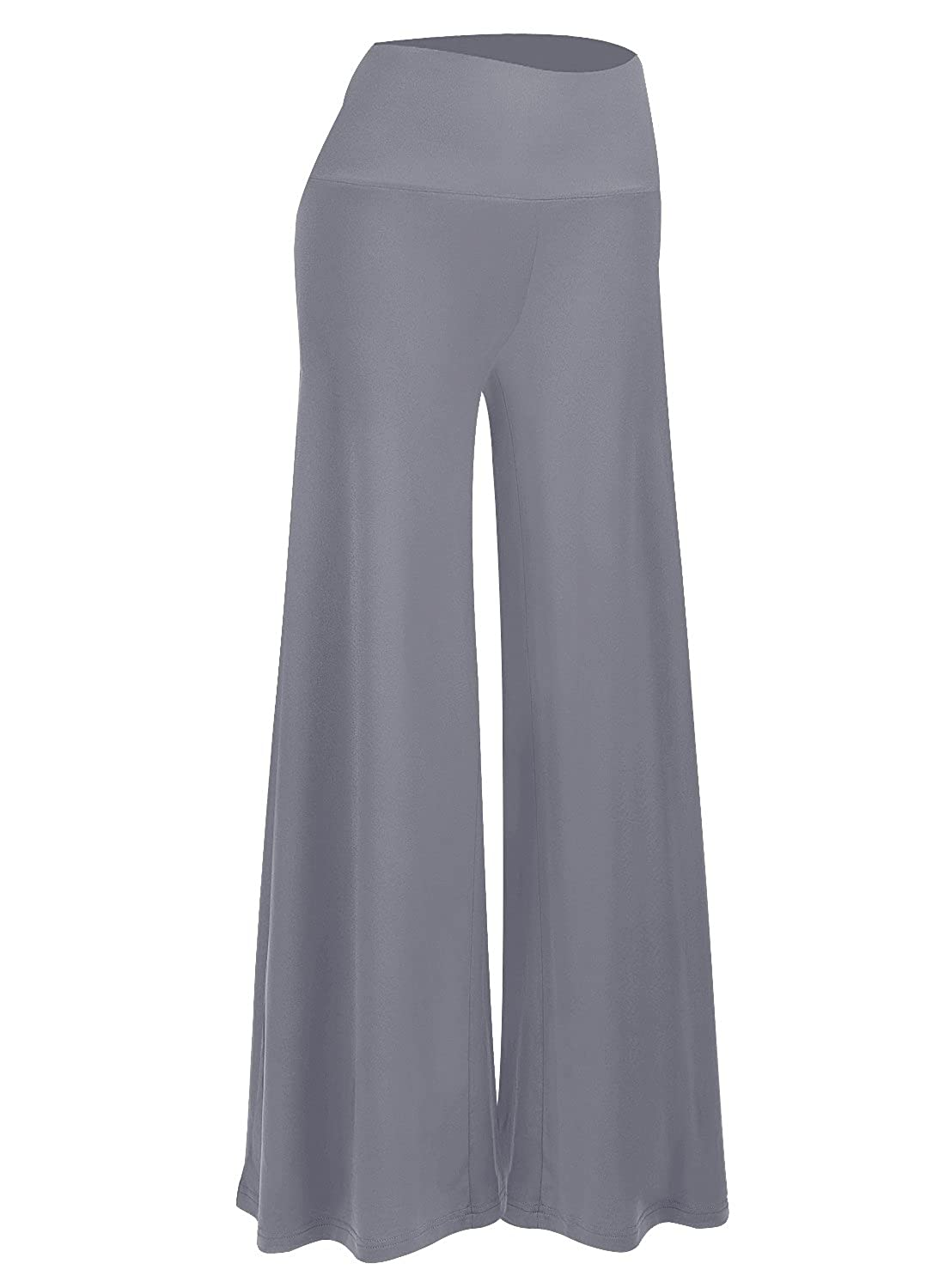 9f824ab1f8 Arolina Women s Stretchy Wide Leg Palazzo Lounge Pants at Amazon Women s  Clothing store