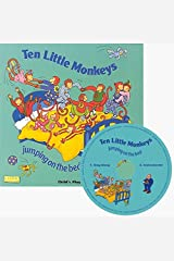 Ten Little Monkeys: Jumping on the Bed [With CD (Audio)] (Classic Books With Holes) Kindle Edition