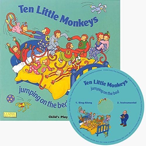 (Ten Little Monkeys: Jumping on the Bed [With CD (Audio)] (Classic Books With Holes))