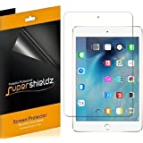 [3-Pack] Supershieldz- Anti-Bubble High Definition Clear Screen Protector For Apple iPad Mini 4 + Lifetime Replacements Warrant - Retail Packaging