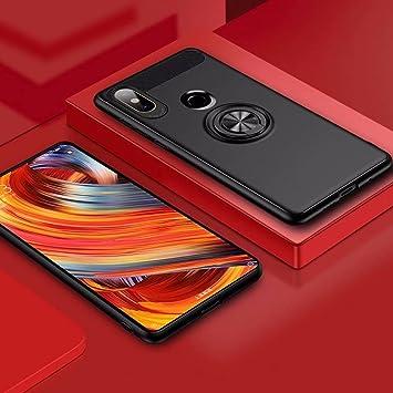 XIFAN Funda Xiaomi Mi Mix 2s con Montaje en Coche, Rugged TPU ...