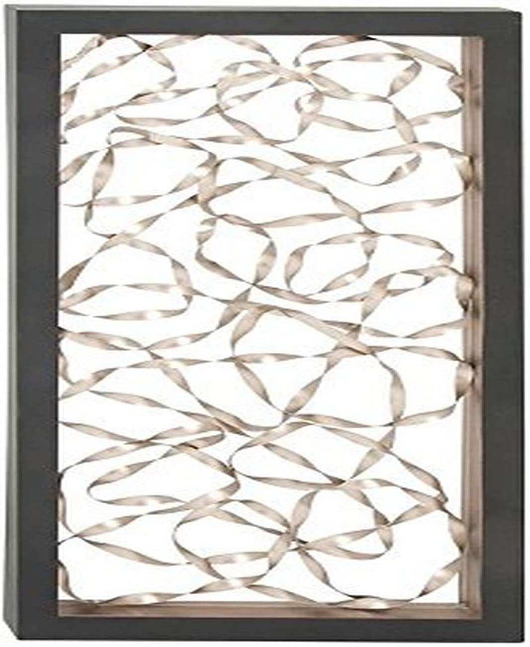 "Deco 79 56844 Captivating Metal Wall Decor, 24"" W x 52"" H"