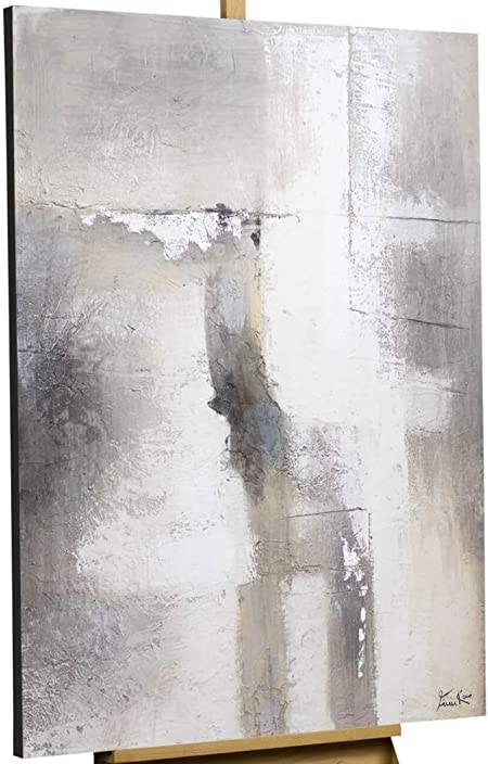 Kunstloft Peinture Acrylique Sur Toile Mur De Brouillard
