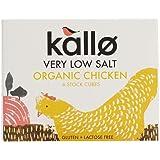 Kallo - Very Low Salt Organic Chicken Stock Cubes - 48g