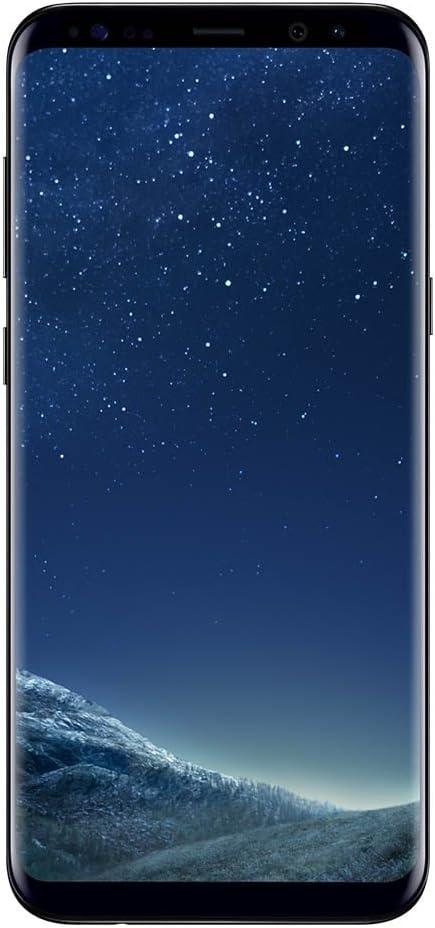 Samsung Galaxy S8 Smartphone, 4GB RAM, 64GB, 12MP, Android 9, (Versión española: incluye Samsung Pay, compatibilidad de redes), Negro, 5.8