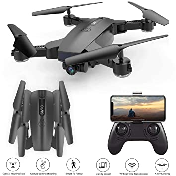 Cr Auto Sígueme Drone con 2MP 120 ° Gran Angular 3D VR Live Video ...