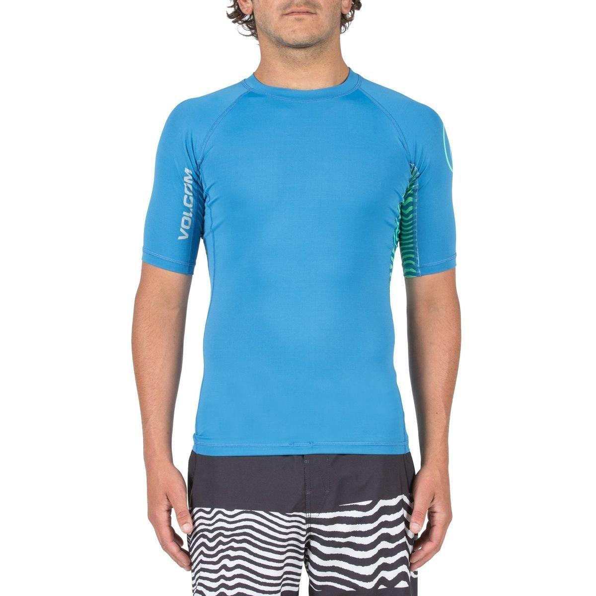 Volcom Young Men's Volcom Men's Vibes Short Sleeve Rashguard Shirt Volcom Young Men's N0111701