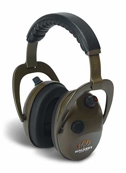 50516d8980b6 Amazon.com   Walker s Game Alpha Power Muffs   Hunting Earmuffs   Sports    Outdoors