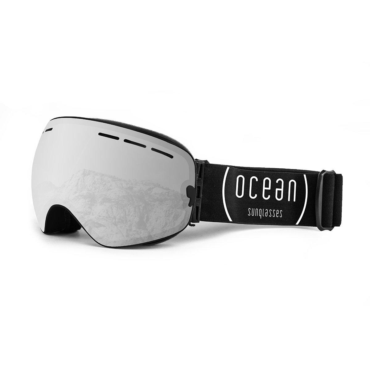 Ocean Sunglasses Cervino - Masque - Monture : Noir - Verres : Photochromatique (YH-3109.0) Rb43GmfAz
