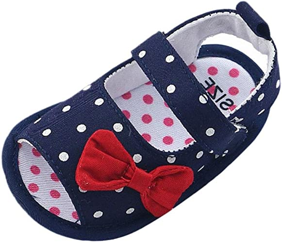 Toddler Baby Boy Girl Soft Sole Crib Shoes Anti Slip Sandals Sneakers Prewalker