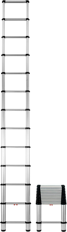 Telesteps 1600E OSHA Compliant 16 ft Reach Telescoping Extension Ladder - Telescoping Ladders -