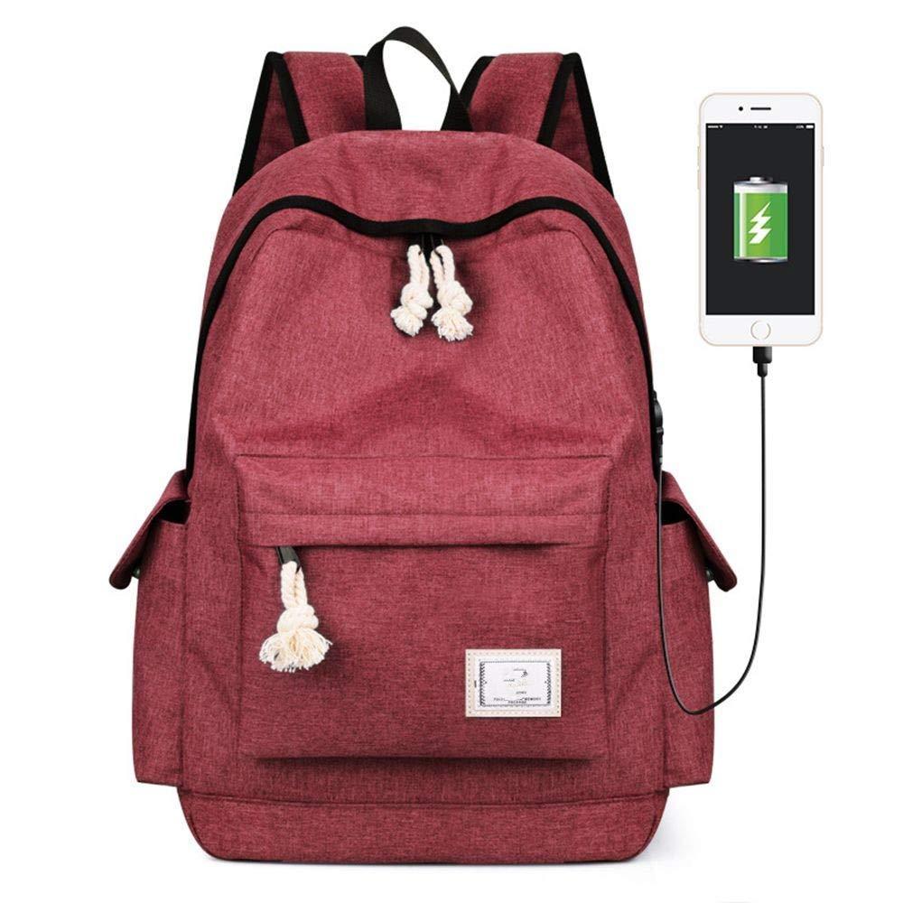 Scarlet DYR Student Bag Men's and Women's Shoulder Bag Casual Handbag Outdoor Travel Bag Shoulder Bag Chest Bag