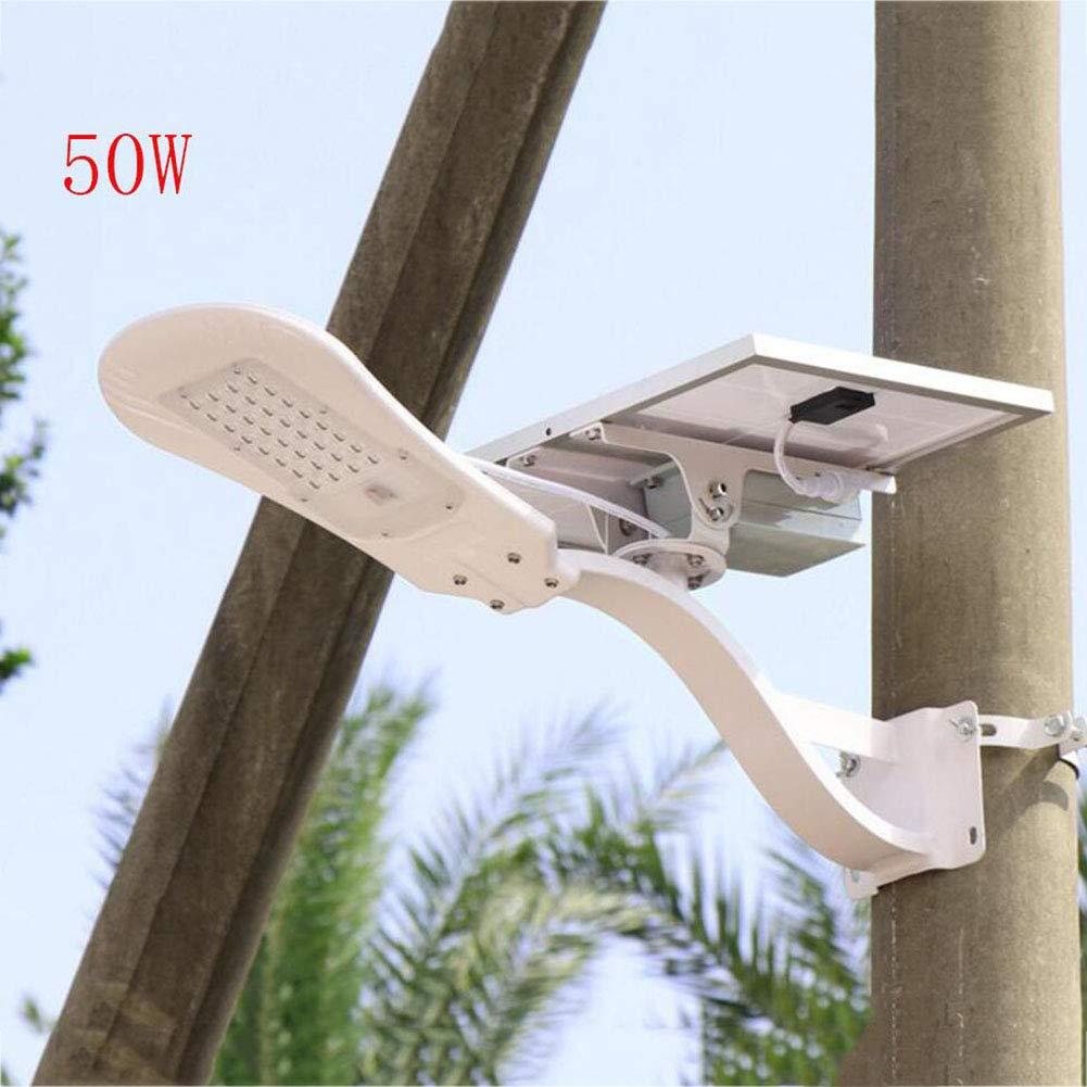 50W Solar Street Light, Outdoor Waterproof LED Remote Control Solar Wall Light, Super Bright Flood Lamp for Garden Yard