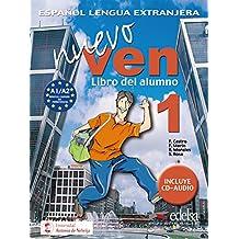 Nuevo ven. Libro del alumno. Per le Scuole superiori. Con 2 CD Audio. Con espansione online: NUEVO VEN 1 ALUMNO + CD