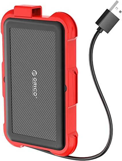 Shockproof//An... ORICO External Hard Drive Silicone Case for 3.5 Inches HDD SSD