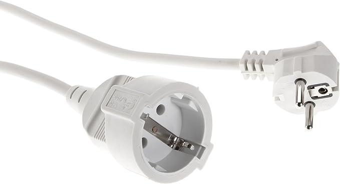5 3 10 Meter Verlängerungskabel PVC Stromkabel 3x 1,50 mm² Schutzkontakt