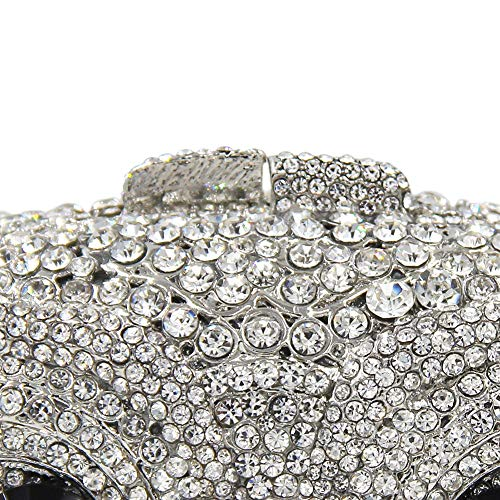 Glitter Purses For Bag Bag Rhinestone Owl Evening Banquet Party Girls Clutch gqOUxPCWw