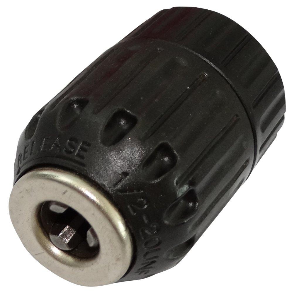 Aerzetix: Schnellspann Bohrfutter selbst Anziehen fü r Bohrer 2-13mm Gewinde 1 / 2x20UNF ohne Schlü ssel C17757 C17757-AC805