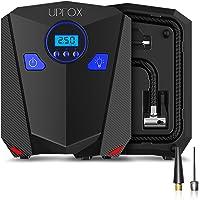 $32 » UPFOX Car Digital Tire Inflator & Portable Air Compressor, 12V DC Auto Tire Pump with LED…