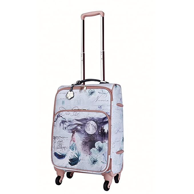 Verona H /& L New Womens Fairy Tales Vegan Leather Carry-On