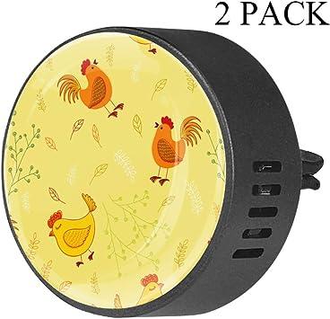 Polla dibujos animados Clip de ventilación de difusor de vidrio ...