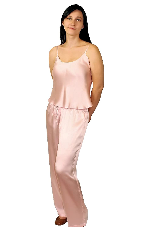 Nyteez Women s Pure Silk Womens Pajama Lounge Set at Amazon Women s  Clothing store  01f4f3434