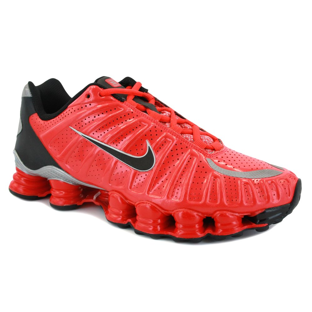 new style 417fe 3dc2d Nike Shox TLX 488313 601 Mens Laced Synthetic Trainers Red Black - 7   Amazon.de  Schuhe   Handtaschen