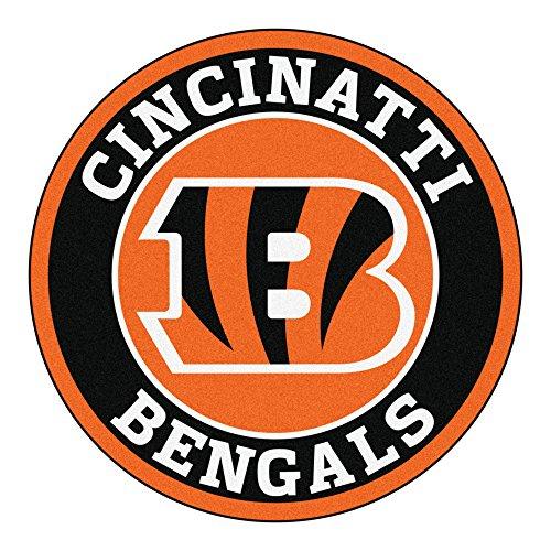 FANMATS 17955 NFL Cincinnati Bengals Roundel Mat