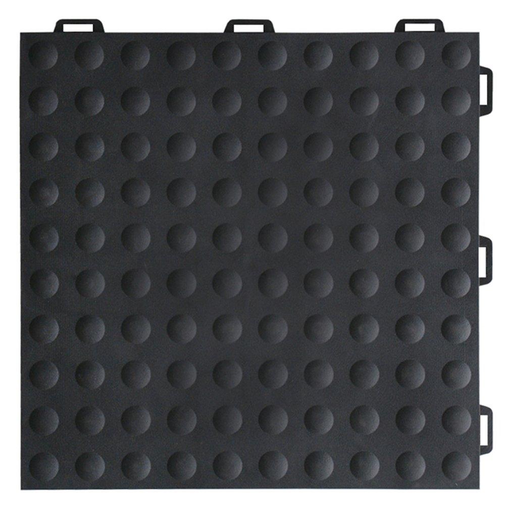 Greatmats StayLock Modular Bump Top Tile 26 Pack (Black)
