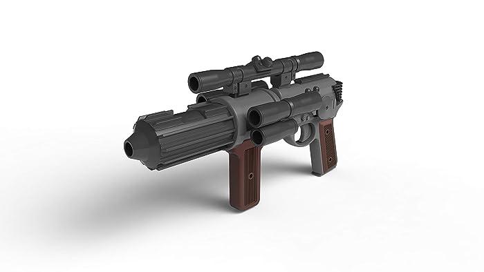 EE-4 Blaster - Star Wars - Cosplay - 3d printed acrilic     - Amazon com