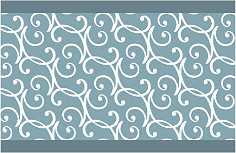 15 cm; Breite H/öhe I-love-Wandtattoo Sticker mural B de 10181/Frise Lianes blanches Salon Cuisine Chambre D/écoration D/écoration murale sticker mural stickers muraux sticker mural 5 m