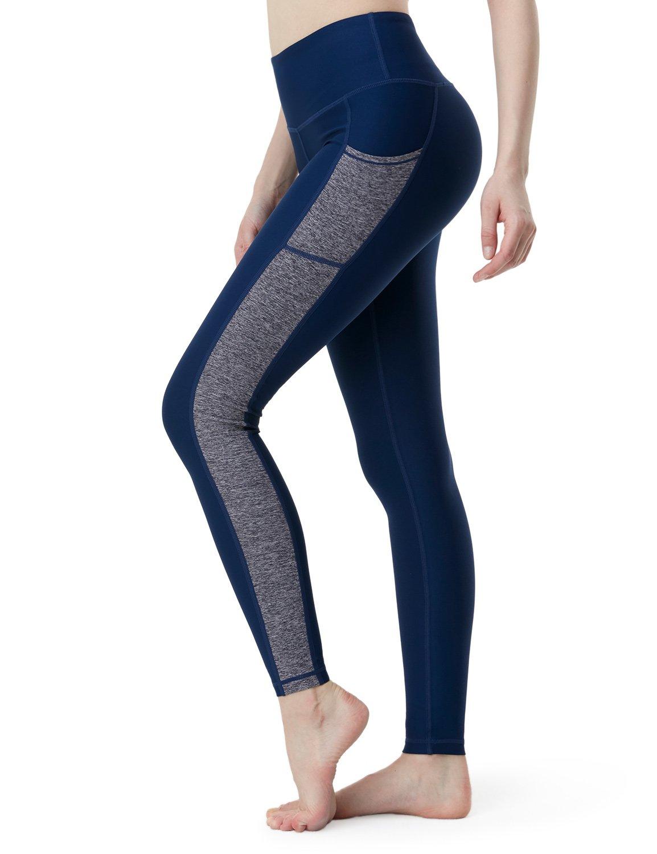 256d9fcf8 TSLA Yoga Pants Mid-Waist Leggings w Hidden Pocket FYP51/FYP41 product image