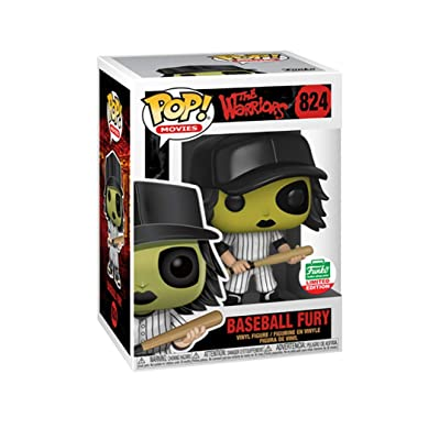 Funko Pop! Movies: The Warriors - Baseball Fury [Green] #824 Exclusive: Toys & Games