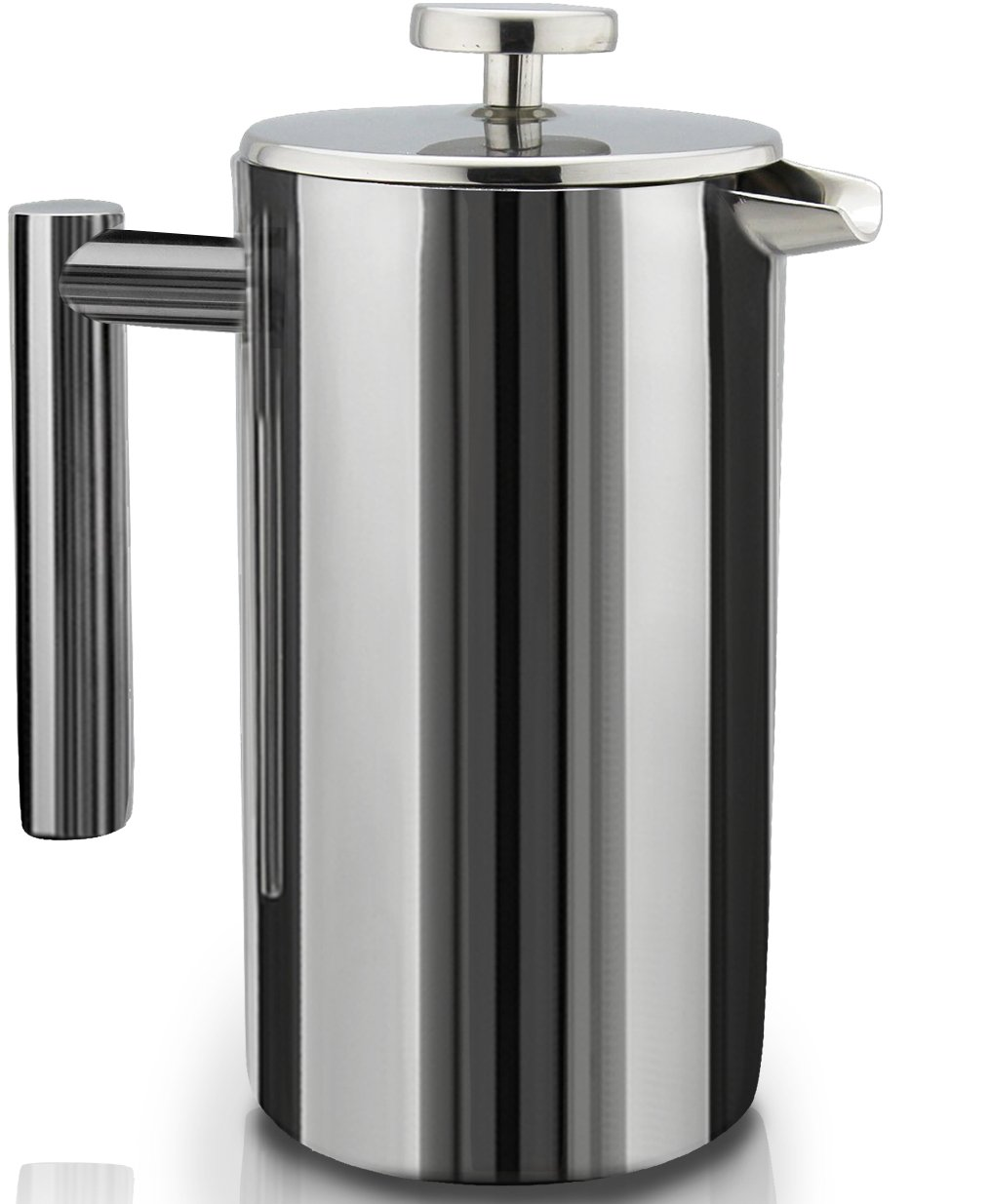 SterlingPro Double Wall Stainless Steel French Coffee Press 1.745L (59 oz)