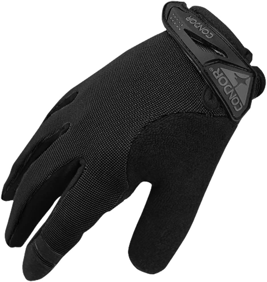 Condor Mens HK228 Shooter Glove Coyote Black size S