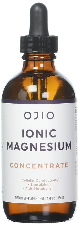 Ojio - Concentrado de magnesio iónico - 4 la Florida. onza.: Amazon.es: Salud y cuidado personal