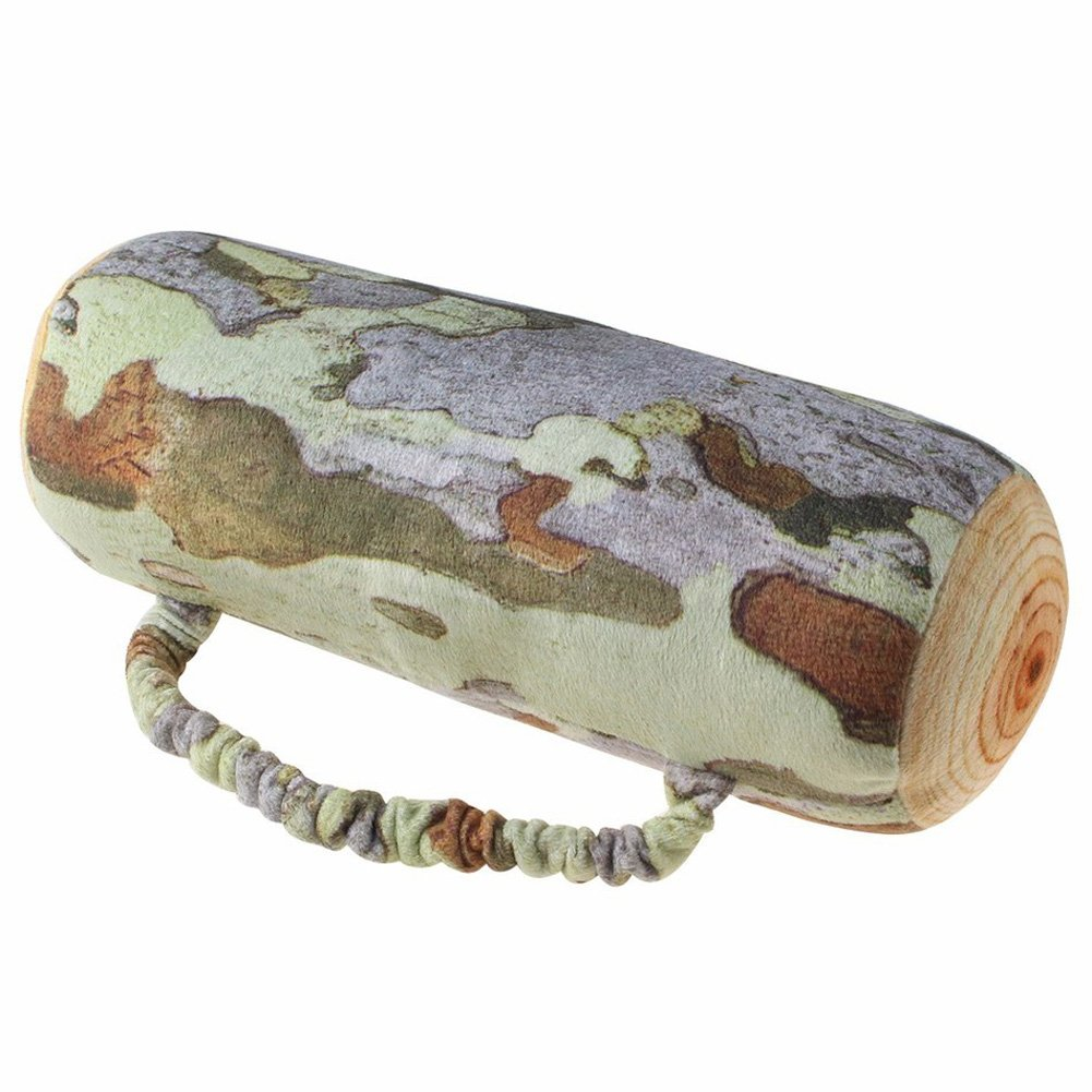 Fly Array Cushion Bolster Pillow Wood Log Tree Stump Design