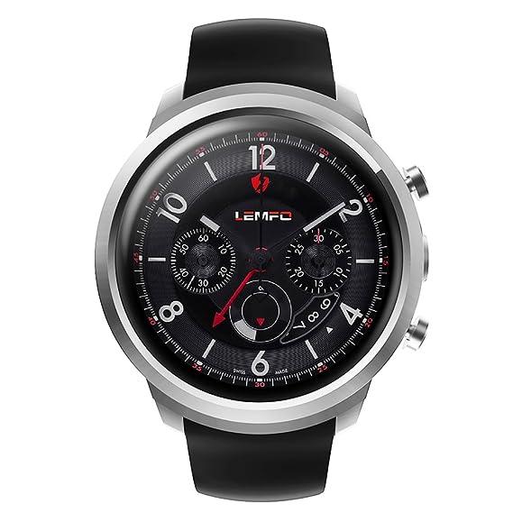 LEMFO BT4.0 3G Tarjeta Inteligente Reloj Smart Watch Teléfono RAM 512M + ROM 8G