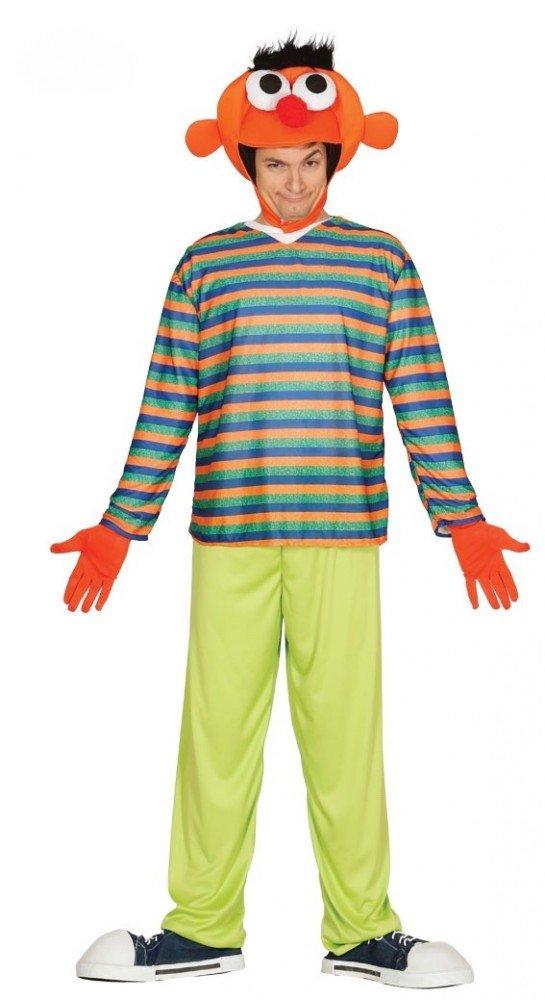 Ernie Bert Herren-Kostüm Gr. M L, Namen Ernie B01LZGSW5Z Kostüme für Erwachsene Reparieren | Starke Hitze- und Hitzebeständigkeit