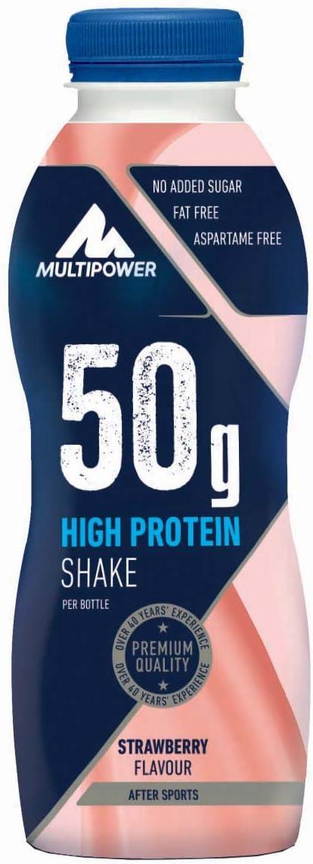 Multipower 50g Protein Shake, Sabor Strawberry - 12 Unidades ...