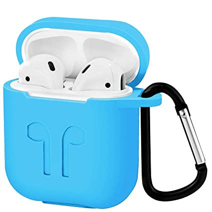 c188f6f52b3 Airpods Case Cover, Applestore Earpods Cases Protective Cover Silicone  Skin, AirPods Accessories Kits with